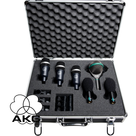 akg rhythm pack professional drum microphone set cet. Black Bedroom Furniture Sets. Home Design Ideas