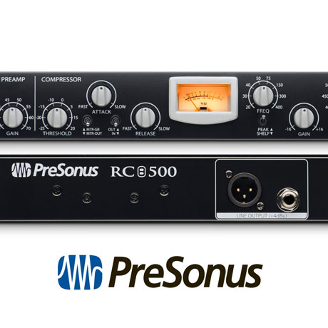 Presonus Rc 500 1 Channel Solid State Channel Strip Cet