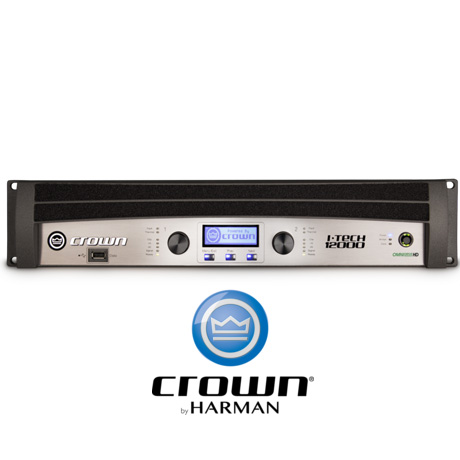 Crown Itech 12000hd 2 Channel Professional Touring Power
